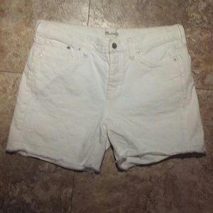 "Madewell ""The Perfect Jean Short"" size 27"